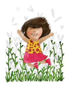 A little happiness on a rainy day! #100dayPeople #mats100days #the100dayproject #kidlit #childrenillustration
