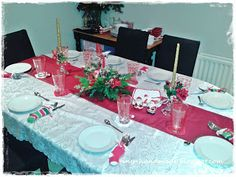 O ozdobach wigilijnych i nie tylko Table Settings, Handmade, Hand Made, Place Settings, Tablescapes, Handarbeit