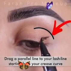 How to Apply Perfect EyeLiner - Best Technique Eyeliner Technique Video with Step by Step Guide<br> Cat Eye Makeup, Beauty Makeup, Eyeliner Techniques, Concealer For Dark Circles, Perfect Eyeliner, Beauty 101, Art Tips, Step Guide, Dark Skin
