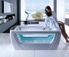 Treesse's stylish Spa Bathtub / Vision Mts (Mytherme System) Collection
