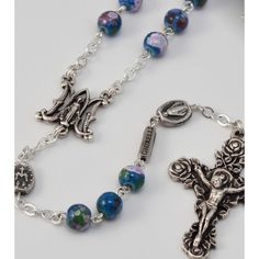 Floral Ave Maria Rosary..truly a treasure.