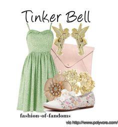 Tinker Bell summer dress