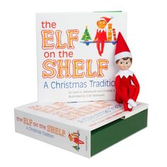 Elf on the Shelf:A Christmas Tradition (light boy scout elf) Box set includes one of Santa?s blue-eyed boy scout elves as well as a beautifully illustrated storybook A timeless holiday … Christmas Books, Christmas Elf, Family Christmas, Christmas Ideas, Holiday Fun, Holiday Ideas, Newborn Christmas, Childrens Christmas, Christmas Wishes