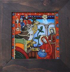 Religious Art, Folk, Models, Glass, Painting, Xmas, Births, Nativity Scenes, Templates