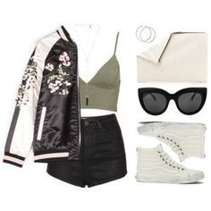 How To Wear This bomber tho Outfit Idea 2017 - Fashion Trends Ready To Wear For Plus Size, Curvy Women Over 50 Cute Casual Outfits, Outfits For Teens, Summer Outfits, Teen Fashion, Fashion Outfits, Womens Fashion, Fashion Trends, Grunge Outfits, Grunge Dress