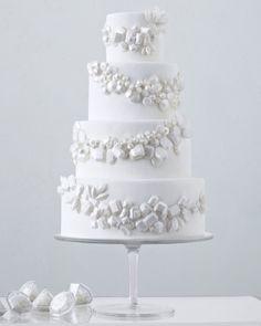 Gem cake Fall 2012 Martha Stewart Wedding