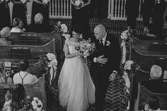 Black and white Savannah wedding. See more on Savannah Soiree. http://www.savannahsoiree.com/journal/charming-black-and-white-wedding-at-whitefield-chapel