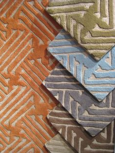 Stamped rug collection by Surya - new at @High Point Market 2013 #hpmkt