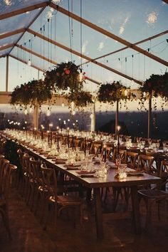 romantic tented wedding reception ideas with lights