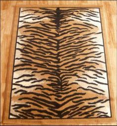 Tiger Print Area Rugs A Good Rug Can Persist For Quite While And If It Is Cared Not Only Prove To Be Lasting B