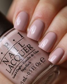 Opting for bright colours or intricate nail art isn't a must anymore. This year, nude nail designs are becoming a trend. Here are some nude nail designs. Nails Polish, Opi Nails, Nude Nails, Nail Polish Colors, Shellac, Color Nails, Neutral Nails, Neutral Colors, Colorful Nail Designs