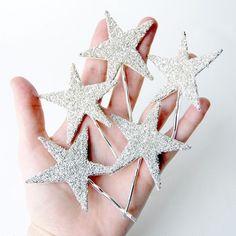 Hair pins! http://www.etsy.com/listing/61186239/giant-dwarf-starlette-sparkler