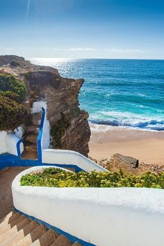 Stairs to the ocean :) Ericeira, Portugal