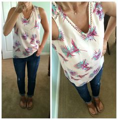 Collective Concepts Ravenna Blouse The Colors Would Look Great On Me