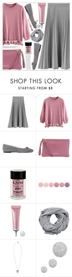 """style"" by lena-volodivchyk ❤ liked on Polyvore featuring ANNA BAIGUERA, Salvatore Ferragamo, Charlotte Russe, Deborah Lippmann, Christian Dior, MANGO, Alexander McQueen and Topshop"