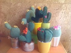 Gehäkelte Kakteen Dinosaur Stuffed Animal, Toys, Crochet Cactus, My Daughter, Cactus Plants, Do Your Thing, Gaming, Games