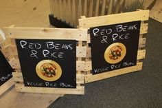 Pallet Signs. Use Old Pallets, to create signage for a business or art for your home or garden!