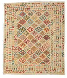 Kelim Afghan Old style Teppich 242x288