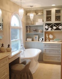 French Country Style: Bathrooms