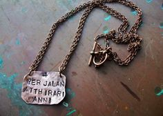 Game of Thrones inspired Necklace Hand Hammered Moon by CENTiment, $26.00