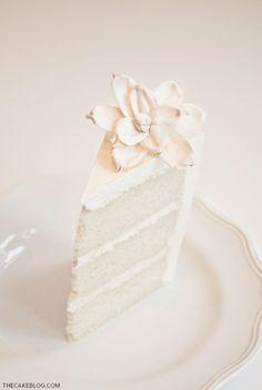 Half Baked – The Cake Blog » Recipe : Classic Vanilla Cake