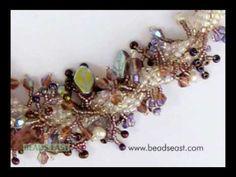 Spiral weave basics for beading Beads East