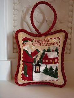 pendouille Lantern Santa - Prairie Schooler