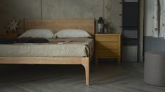 Camden Handmade Bed | Solid Wood Beds | Natural Bed Company
