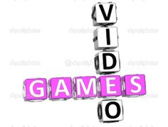 video game stock photo | Video Games Crossword — Stock Photo © Mariusz Prusaczyk #5154212