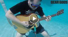 Será Que Uma Guitarra Debaixo De Água Também Produz Som? http://www.desconcertante.com/sera-que-uma-guitarra-debaixo-de-agua-tambem-produz-som/