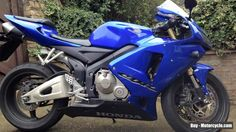 HONDA CBR 600 RR Electric blue! Head Turner! LOW MILEAGE FSH #honda #cbr #forsale #unitedkingdom
