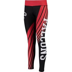 Atlanta Falcons Concepts Sport Women's Dynamic Sublimated Leggings - Black/Red