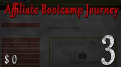 (E3) My #Affiliate Bootcamp #Journey from $0 to $? 2 Weeks Done. Results $0 https://www.youtube.com/watch?v=hVv-QXyPGTE