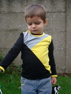 Mie Katoentje: Zwart, grijs en geel