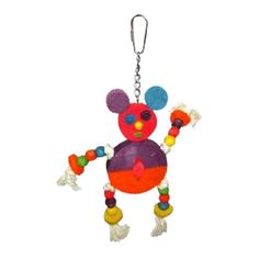 A&E Cage HB46352 The Crazy Wooden Mouse Bird Toy. A&E Cage HB46352 The Crazy Wooden Mouse Bird Toy