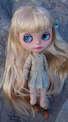 OOAK Custom Blythe doll by MaPetiteMademoizelle on Etsy