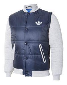 6e457ed5ba4a Mens Padded Removeable Sleeve Jacket at Life Style Sports