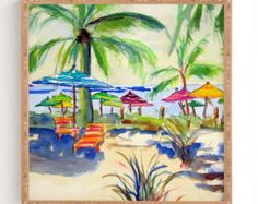 Free Shipping!!  Caribbean Time weathered framed wall art now available in 4 different sizes and three color frames to choose from: weathered white, weathered gray, weathered black.  Framed wall art on high quality fiberboard Weathered wooden frame with 1 mat border on all sides Satin finish Custom made for every order Material: Wood and fiberboard  Care: Dust with a dry cloth   DETAILS  - INCLUDES WALL HANGER  - MADE TO ORDER - CUSTOM MADE IN THE USA  - ESTIMATED SHIP DATE: 5-10 BUSINESS…