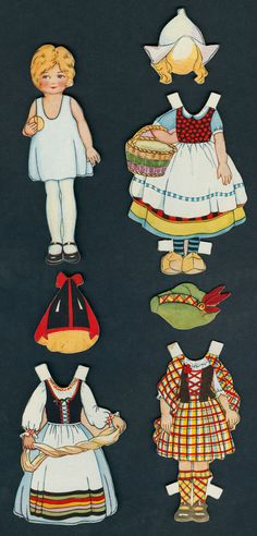 Greeting Card Paper Doll 5261 | eBay* 1500 free paper dolls for small Christmas gits and DIY for Pinterest pals The International Paper Doll Society Arielle Gabriel artist ArtrA Linked In QuanYin5 *