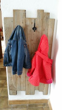Porte-manteau enfants DIY by Monsieur