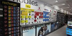 Dick Smith Home Appliance Store Display Design - Custom Mobile Cell Phone Shop Interior Design Accessories Store, Cell Phone Accessories, Mobiles, Shop Counter Design, Mobile Shop Design, Cell Phone Store, Phone Case, Showroom Interior Design, Miniatures