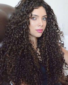 Beautiful Black Girl, Beautiful Long Hair, Gorgeous Hair, Wavy Hair, New Hair, Curly Hair Styles, Natural Hair Styles, Cabello Hair, Long Curls