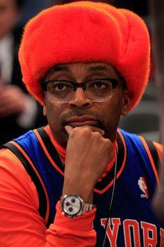 Spike Lee Atlanta Hawks v New York Knicks