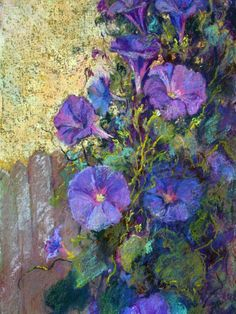 Wildflowers by Peggy Duncan    Part of the Appalachian Pastel Society exhibiting August 2012