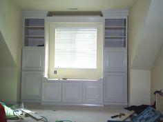 Built In Window Seats | Built in window seat - by Munnsy @ LumberJocks.com ~ woodworking ...