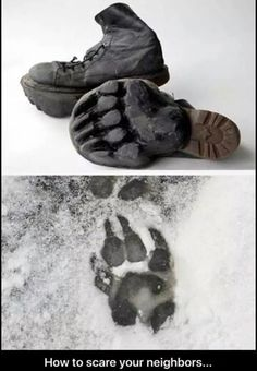 Bear Claw Boot