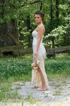 AnnaClair Coley looked ravishing in #Jovani #Prom gown style 4247