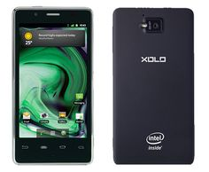 Xolo Smartphone with Intel Inside #intel #smartphone #android