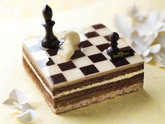 Chess cake! sis, you should make this for dad's birthday.