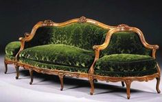 11 Different Antique Couches, Sofas and Settee Styles: Canapé à Confidante Sofa Plywood Furniture, Deco Furniture, Design Furniture, Furniture Styles, Cheap Furniture, Rustic Furniture, Furniture Dolly, Sofa Layout, Antique Furniture